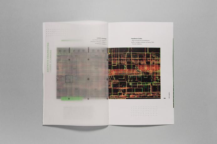 Laser scanning brochure design, for R-Cubed Engineering Team in Athens, Greece #brochure #design #minimal #laser #scanning #typography #layo