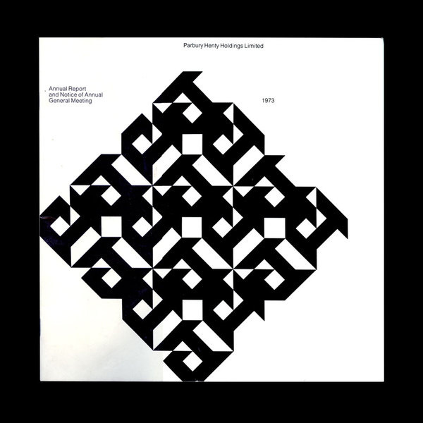 Re:Collection Parbury Henty Holdings Annual Report #abstract #album #pattern #graphic #cover