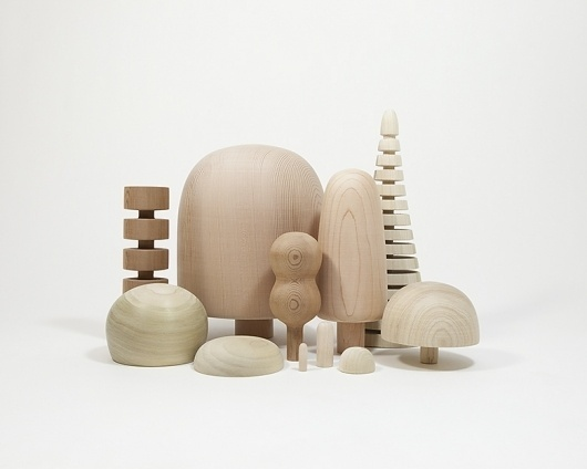 Stuff and Nonsense #trees #wood #toy