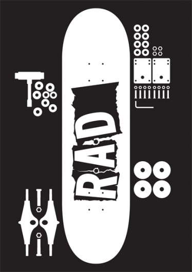 Print-Process / Product / Read and Destroy [black] #mark #boyce #destroy #read #poster #and #rad #skateboard