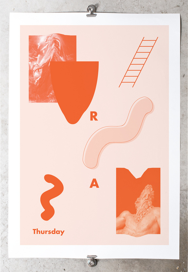 Thursday #ashlea #oneill #design #graphic #poster #weekday