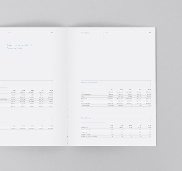 NAC - Annual Report on Behance #annual #report