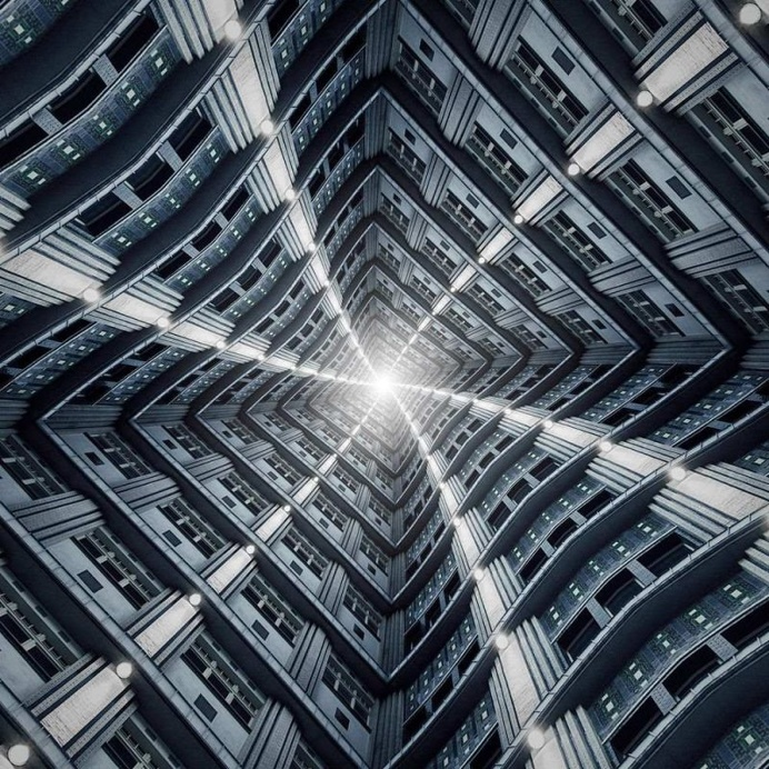 Symmetry Architecture Photography by Markus Studtmann