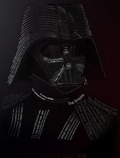 Typo Vader on yay!everyday #illustration #typo