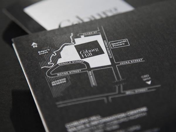 Coburg Hill #cosmopolitan #property #hill #black #marque #real #coburg #logo #estate #brochure