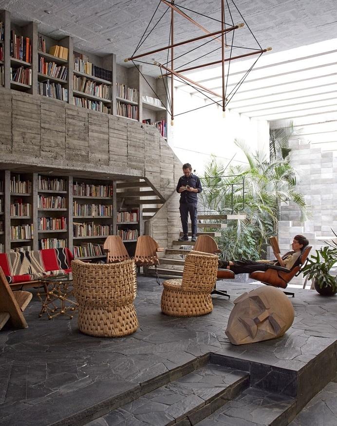 Mexico City Concrete Home 3