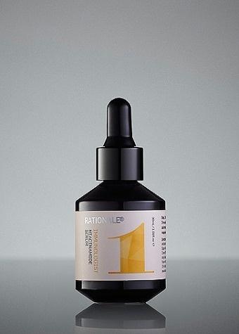 Immunologist Niacinamide Serum   Rationale Skin Care #bottle #packaging #fractal #pompadour #cosmetics #rationale #type #colour