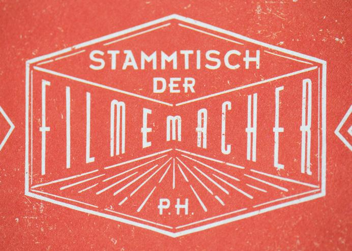 Logo for Stammtisch der Filmemacher | Design by Cohezion