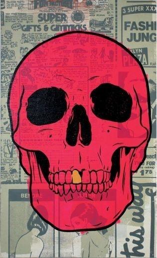 Daily Newsletter #type #illustration #poster #skull