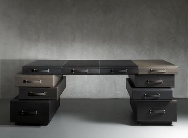 Modular The Leather Collection Concept #interior #design #decor #home #furniture #architecture