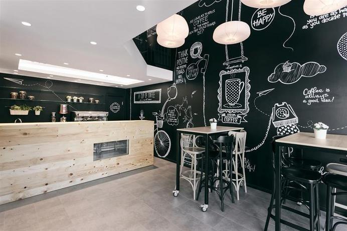 Stock Coffee by Arhitektura Budjevac - www.homeworlddesign.com #bar #cofe