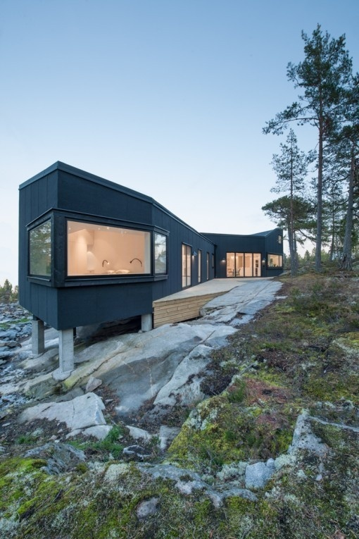 Architectural Photography by Jason Strong #sweden #cabin #home #landscape #photography #architecture #nature #modernism #trees #beauty