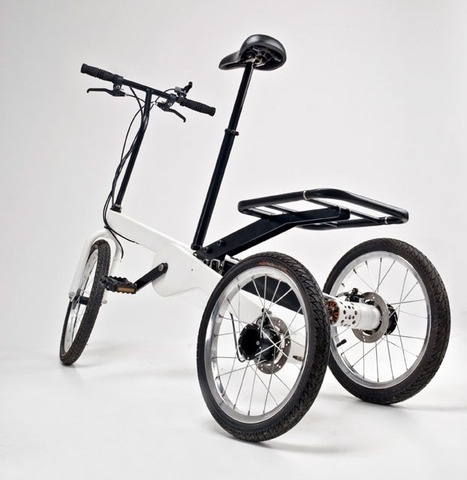 Vienna Bike by Valentin Vodev #electric #modern #transport #tricycle #minimal #bike