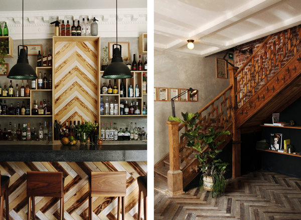 PUEBLA 109 #interior #food #restaurant #wood #savvy