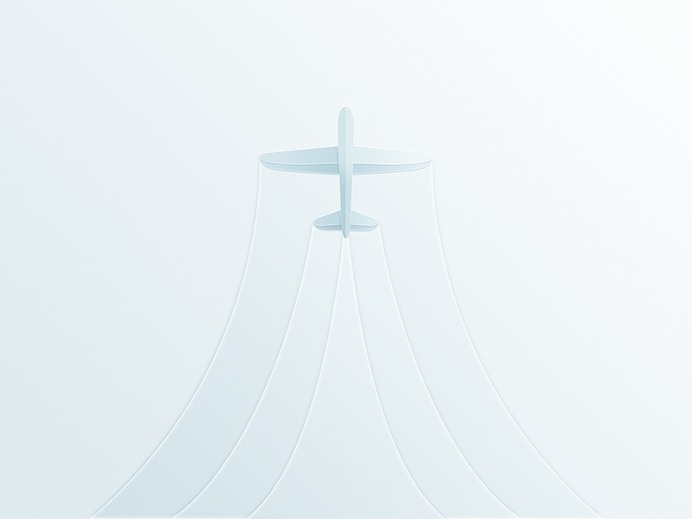 Ascending Plane - Jason Zigrino #illustration #plane #sky