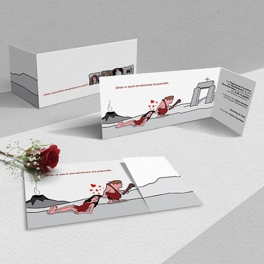 M & Z Wedding invitation #magoulas #invitation #print #vasilis #wedding #vamadesign