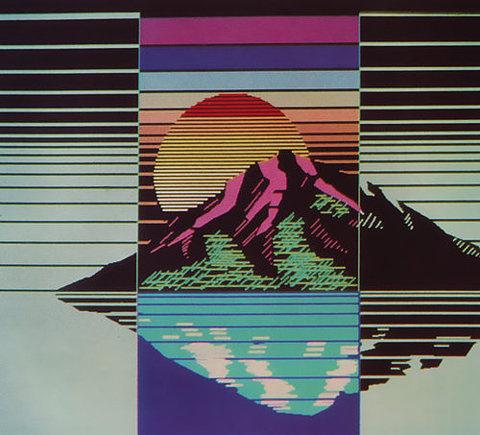(1) Tumblr #illustration #mountain