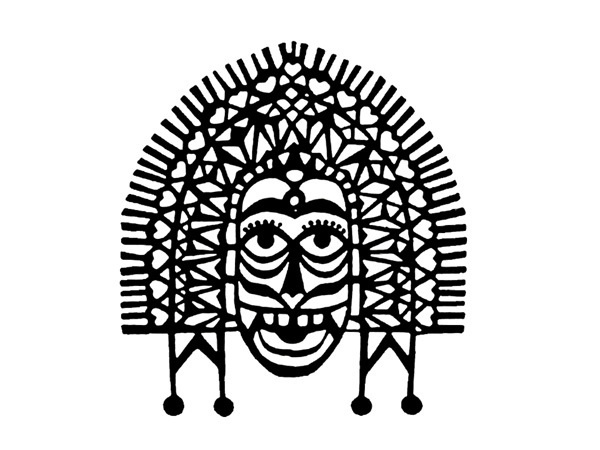 D'source Resources - Gallery Content - Logos representing India - Logos, Corporate Identity, Culture, India #face #indian #symbol #mark