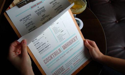 CL07 #menu #food #restaurant #concept #identity