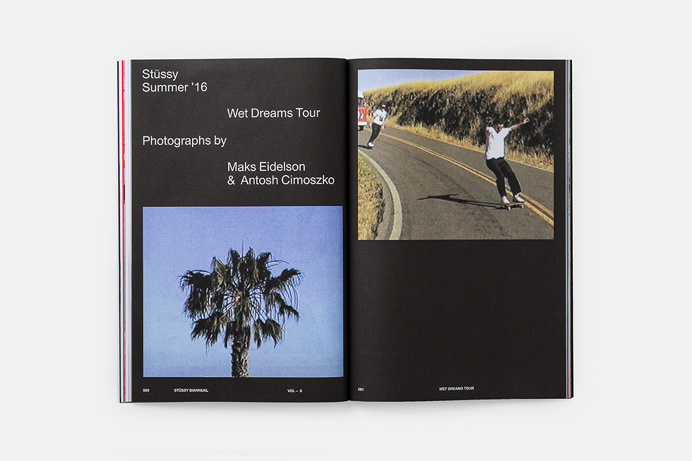 stussy editorial layout
