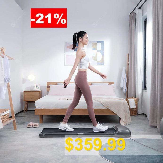 WalkingPad #C1 #Foldable #Fitness #Walking #Machine #App #Control #Electric #Gym #Equipment #from #Xiaomi #youpin #- #GRAY
