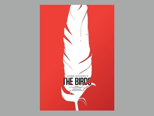 Toutes les tailles | Giclee Print_The Birds 1 | Flickr: partage de photos! #red #print #design #graphic #keepsmesane #illustration #poster