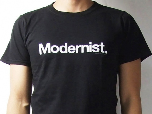 Modernist | Work | Face37 #helvetica #modernist #tshirt