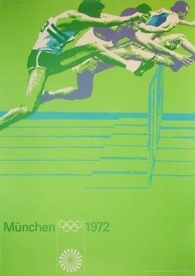 1972 Olympic flyer by Otl Aicher #otl #flyer #aicher #olympics #munich