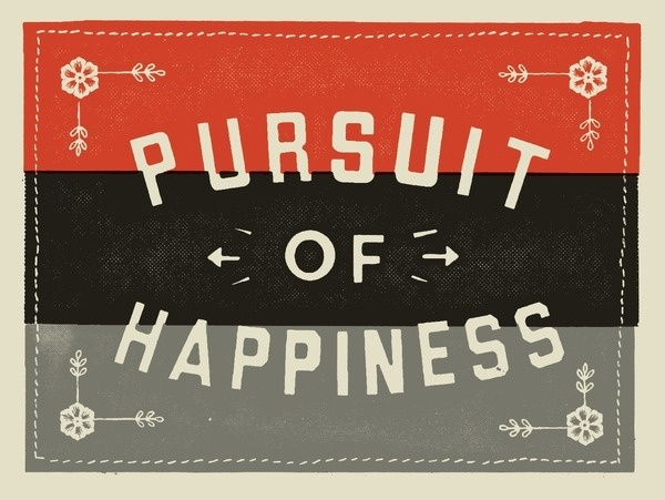 Pursuit #print #poster #typography