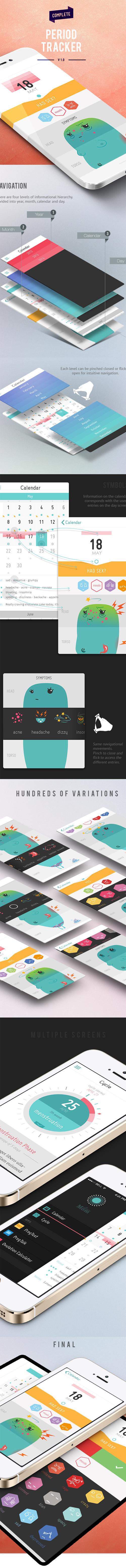 Amazing Mobile App UI Designs with Ultimate User Experience - 12 #ux #design #ui #iphone #app