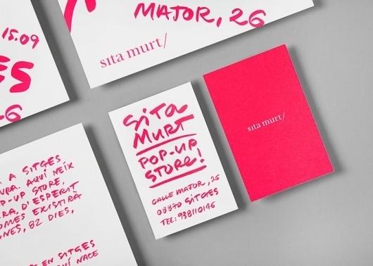 Sita Murt / Sita Murt Pop Up Store identity / Fashion
