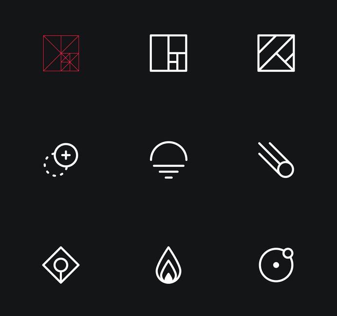 Polarr Icon Set on Behance