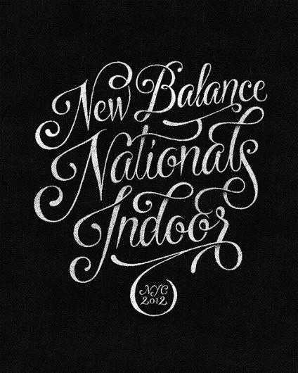 Beautiful Type #lettered #hand #balance #curvy #typography