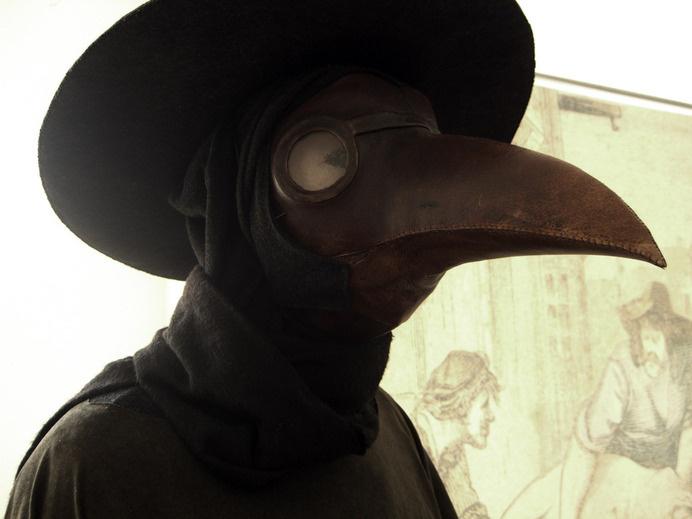 plague_mask_denmark_krautwald.jpg (image) #doctor #mask #plague #crow
