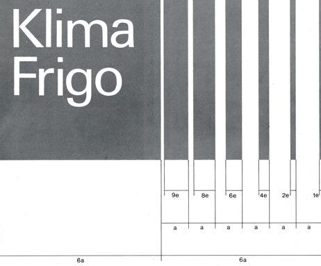 Klima Frigo (Swiss Air Conditioning company) #logo #system #design #graphic