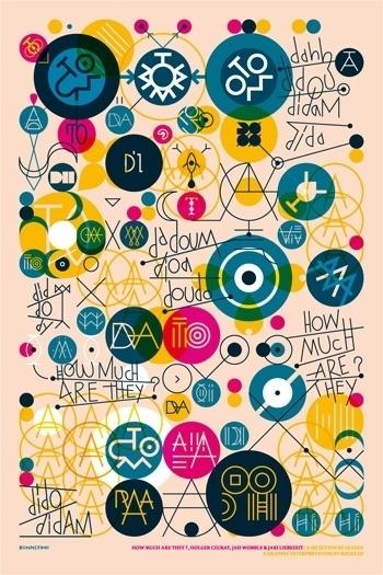 kouglof - typo/graphic posters #design #graphic #typography