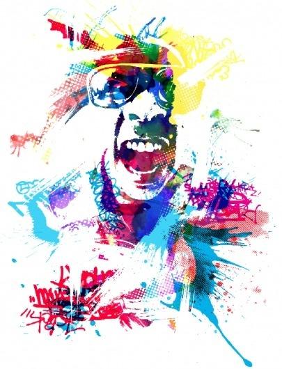 Portrait-of-the-Artist.png (PNG Image, 579x756 pixels) #urban #graffiti #ortiz #denver #colorado #spraypaint #art #likeminded #michael