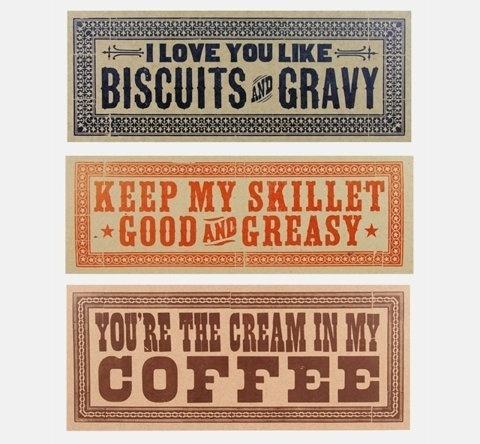 FFFFOUND! #biscuits #signs