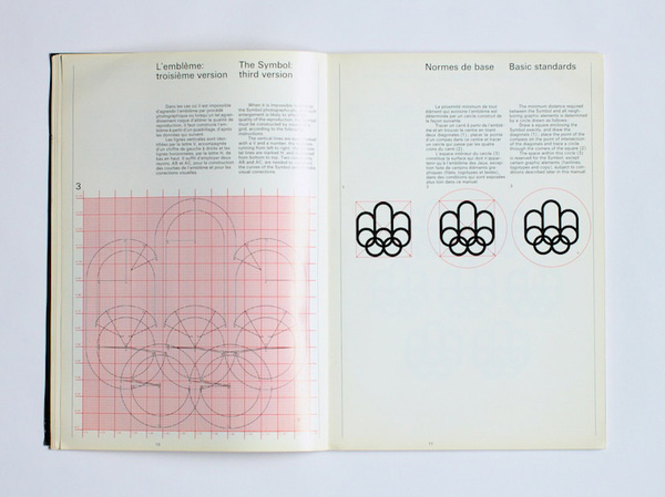 1976 Montreal Olympics Graphics Manual #1976 #guide #vintage #1970s #manual #graphics #olympics