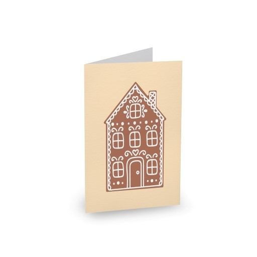 Gingerbread Cookies Type 3 - Christmas Cards #paperlust #christmas #christmascards #paper #design #print