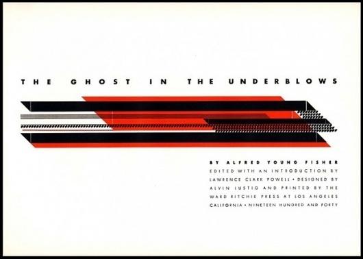 Alvin Lustig Compositions - The Black Harbor #white #red #modern #black #complex #minimal #lustig