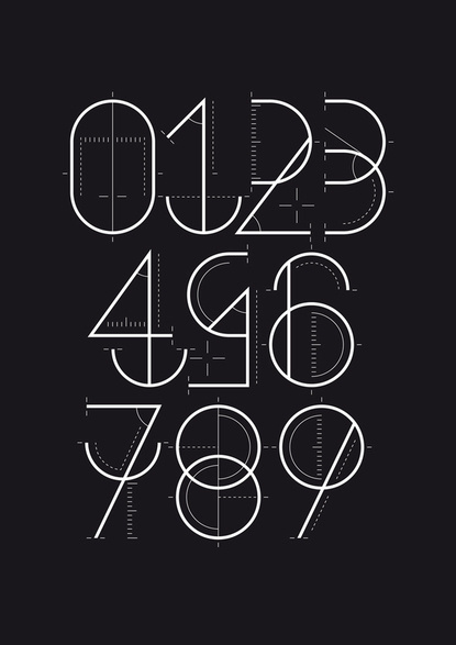 Baubauhaus. #measurement #calculated #markers #typography