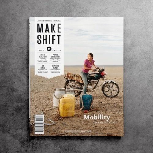 Make Shift #print #magazine