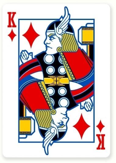Poker Vengadores : Miguel Naranjo #thor #design #comic #illustration #poker #naranjo #avengers #miguel