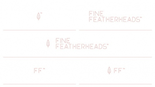 Fine.Featherheads.ID.08.jpg (990×560) #logo #identity #branding
