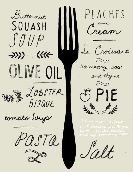 squaremeal #illustration #food #poster #typography