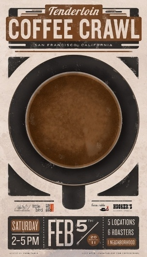 JasonPermenter.jpeg 600×1047 pixels #texture #illustration #poster #coffee #typography