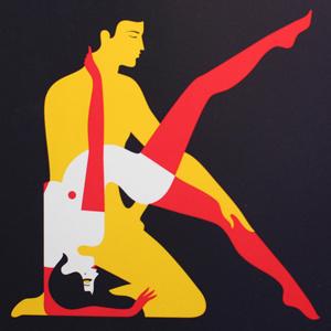Kama Sutra - malikafavre #sutra #minimalism #kama #illustration #sex