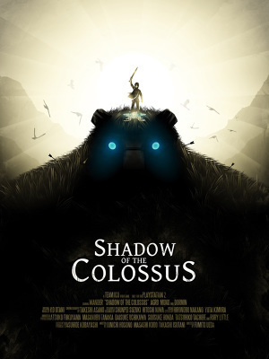 Shadow of the Colossus #print #poster #video game #gaming #colossus