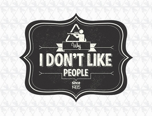 Why i don't like people on the Behance Network #dont #widlp #people #like #logo